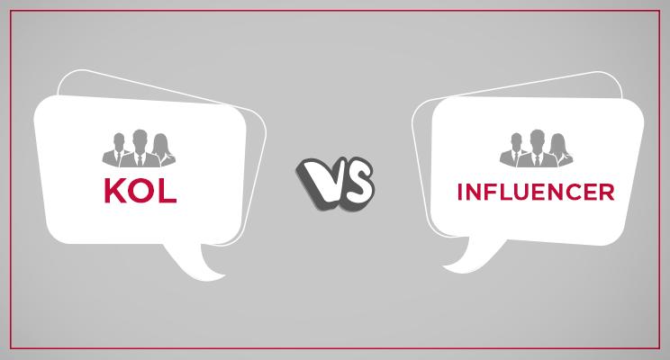 KOLs VS Influencers